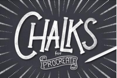 Procreate Chalk Brushes