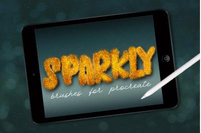 Procreate Sparkle Brushes