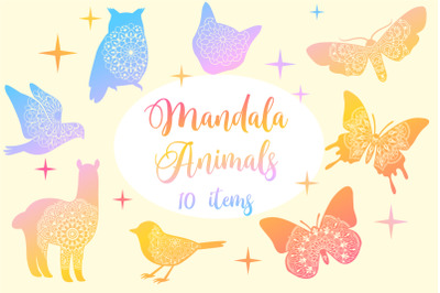 Mandala Animals Collection
