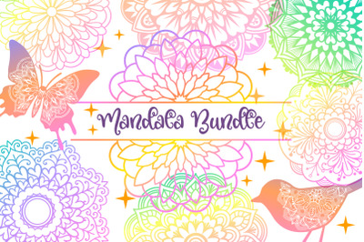 Mandala Bundle- 40 SVG cut files