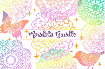 Mandala Bundle- 40 SVG cut files