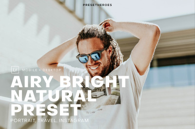 Airy Bright Pro Lightroom Preset