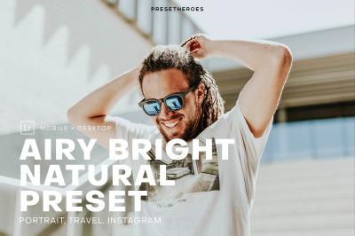 Airy Bright Pro Lightroom Preset