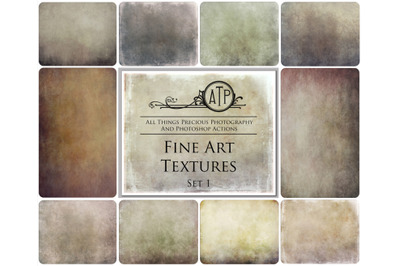10 FINE ART TEXTURES - Set 1