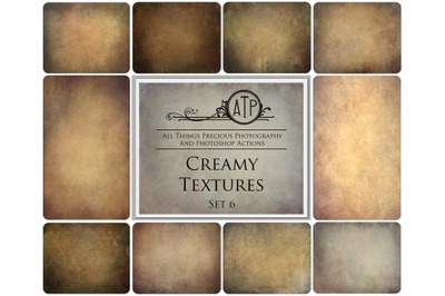 10 CREAMY TEXTURES - Set 6