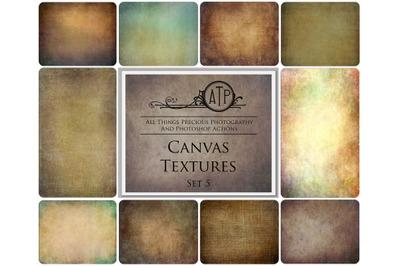 10 CANVAS TEXTURES - Set 5