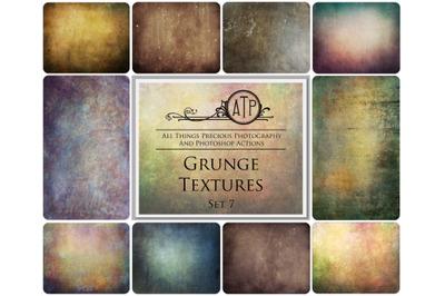 10 GRUNGE TEXTURES - Set 7