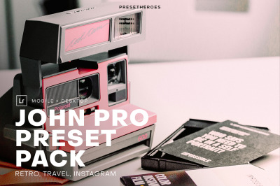 John Professional Lightroom Preset