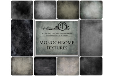 10 MONOCHROME TEXTURES - Set 1
