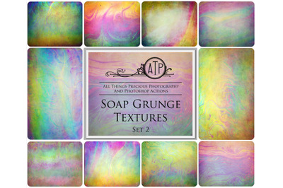 10 SOAP GRUNGE TEXTURES - Set 2