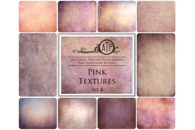10 PINK TEXTURES - Set 4