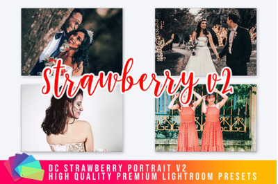 DC Strawberry Lightroom Preset v2