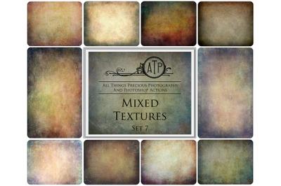 10 MIXED TEXTURES - Set 7