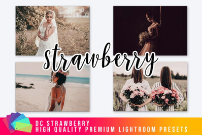 Strawberry Lightroom Presets V1