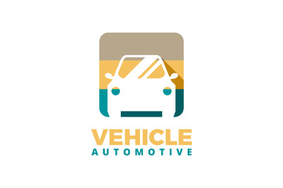 Service car or vehicle logo template