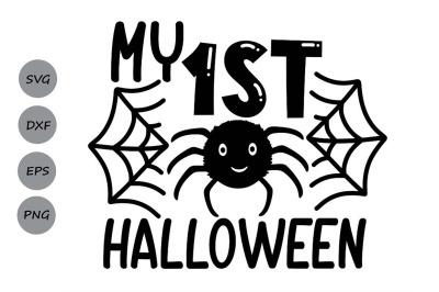My 1st Halloween Svg, Halloween Svg, First Halloween Svg, Baby Svg.