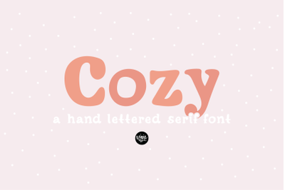 COZY a Friendly Serif .OTF Font