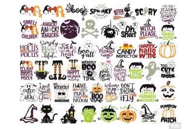 Halloween SVG Free Files Bundle