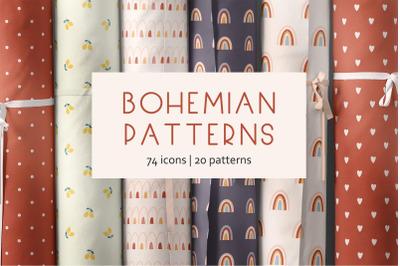 Bohemian patterns