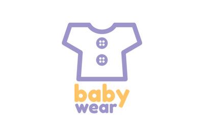 babywear logo vector
