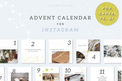 Advent Calendar for Instagram