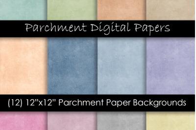 Parchment Paper Texture - Parchment Digital Paper Background