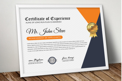 Business Certificate Word Template