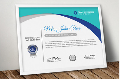Creative Certificate Word Template