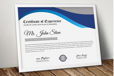 Certificate Word Template