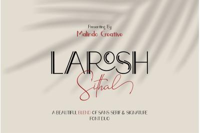 LAROSH Sithal | Font Duo+Extra