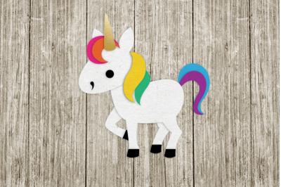 Unicorn | SVG | PNG | DXF