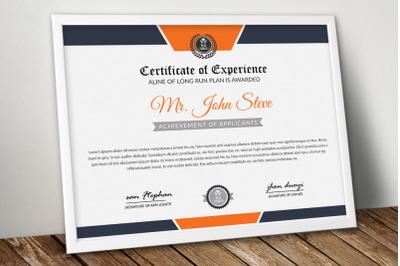 Diploma Certificate Word Template