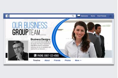 Business Facebook Timeline Cover