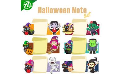 Halloween note
