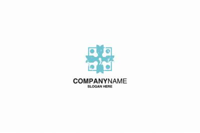 Human Icon logo template. eps 10