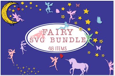 Fairy SVG Cut Files Bundle