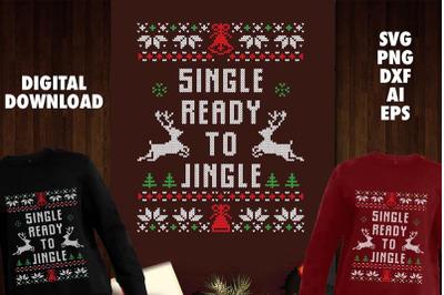 Single Ready to Jingle Transparent SVG