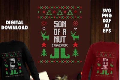 Son Of A Nut Cracker Transparent SVG