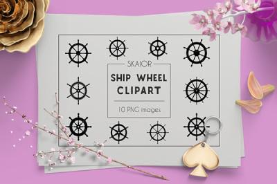 Helm Clipart Ship Wheel Clipart
