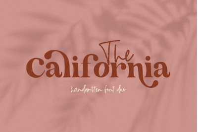 The California - Handwritten Serif Duo