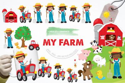 My Farm graphic and illustration