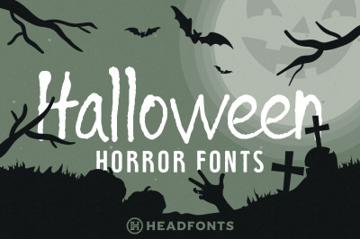 Halloween Horror Font Bundle