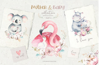 Baby & Mom cute collection