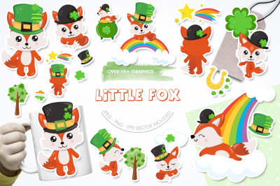 Little Fox graphic and illustrations