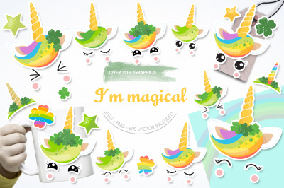 Im Magical graphic and illustration