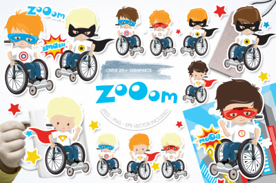 Zooom graphic and illustration
