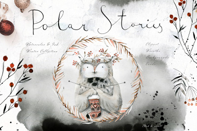 Polar Stories Watercolor Set