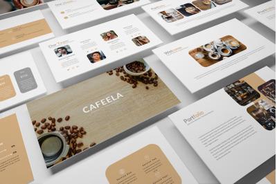 Cafeela Keynote Template