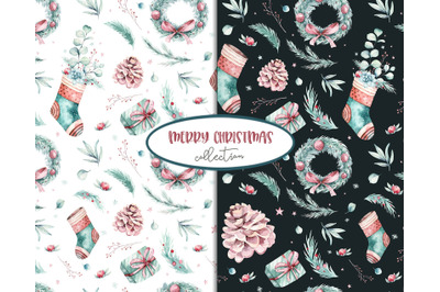 Christmas & new year patterns collection!