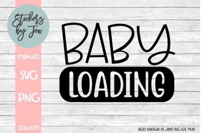 Baby Loading SVG